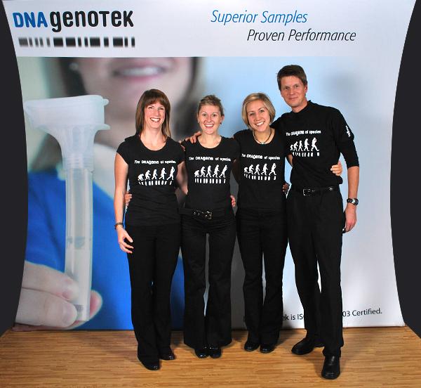DNA Genotek, Oragene, DNA Kits, Ian Curry