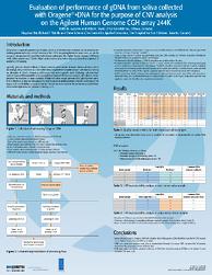 DNA Genotek ASHG poster 2010