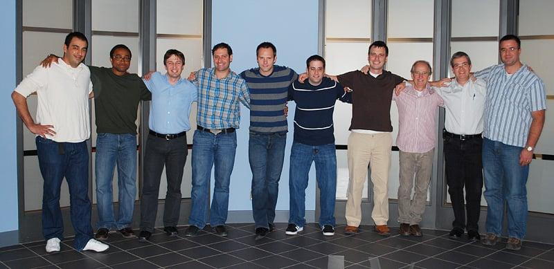 DNA Genotek Movember team