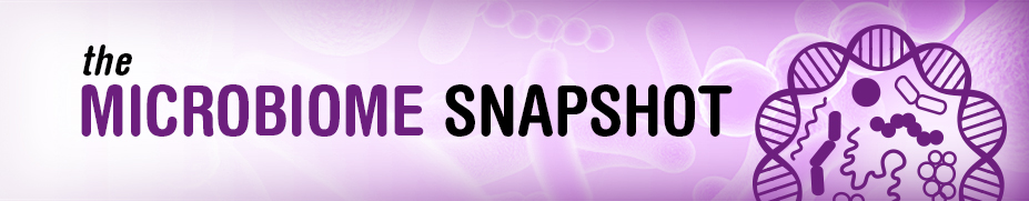 Microbiome Snapshop Blog banner image