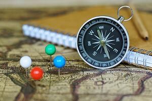 Compass-Notebook-And-Marking