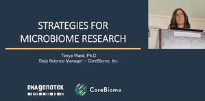 Strategies in microbiome sequencing
