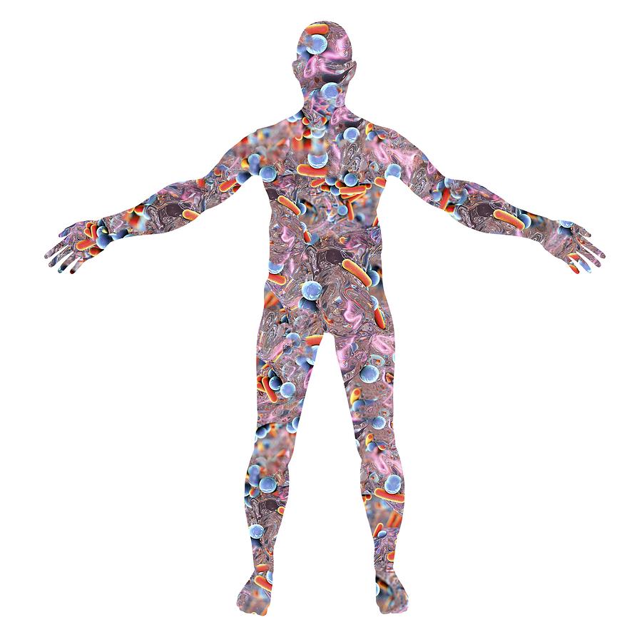 Microbiome skin