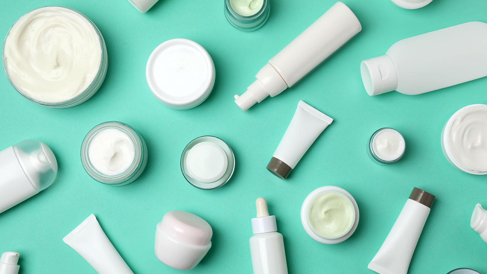 Skincare products and the skin microbiome